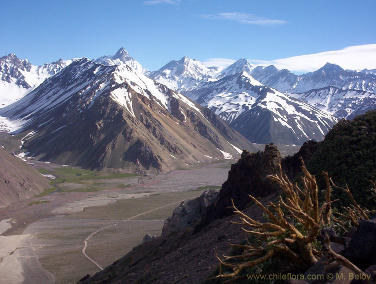 Image of Embalse Yeso Valley.